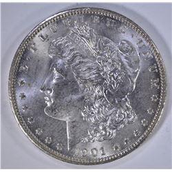 1901-O MORGAN DOLLAR CH BU+