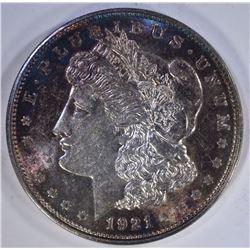 1921-D MORGAN DOLLAR BLUE TONES!