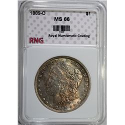 1889-O MORGAN DOLLAR RNG SUPERB GEM
