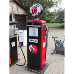 Red Indian Gas Pump