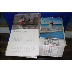 5 Incomplete Calendars