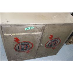 Genuine P & D Ignition Parts Cabinet with Key