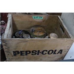 Pepsi Cola Shell with Contents