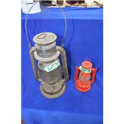 Beacon Barn Lantern & a Feuerhand Lantern