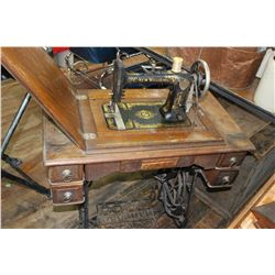 Williams Treadle Sewing Machine