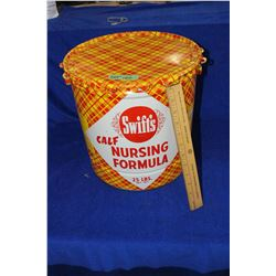 Swifts Calf Nursing Formula - 25lb. Tin - Good Condition In & Out