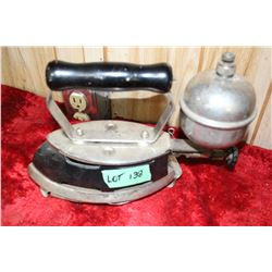 Coleman Gas Iron with Trivet