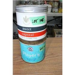 Tobacco Tins (2)