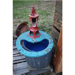 Cistern Pump for a Well