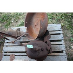 Antique Forge Blower - it is seized