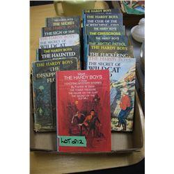 12 Hardy Boy Books