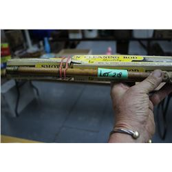 Old Wooden Shot Gun Cleaning Rods