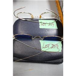 4 Prs of Vintage Glasses