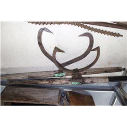 2 Vintage Log Lifters