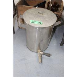 Old Water Cooler w/Lid & Spigot