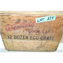 William Paterson Limited 12 doz. Egg Crate