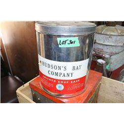 Hudson's Bay Company Chicken Soup Base Tin