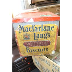 MacFarlane Lang's Biscuit Tin