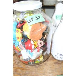Gallon Jar of Small Toys