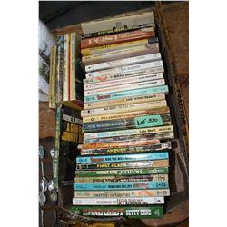 Box of Western Books
