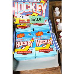 Box of Collectible Hockey Cards/Gum