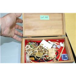 Jewelry Box w/Contents