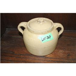 #1 Medalta Bean Pot (Some surface cracks that don't go through)