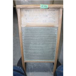 Fraser Mountain Glass Washboard