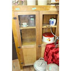 Old Pioneer Cabinet - Needs 1 pc. Of Glass