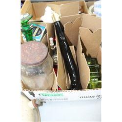 Box of Avon Collectibles