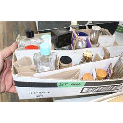 Box of Perfume Bottles