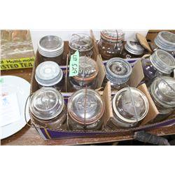 15 Qt. Fruit Jars - Mostly Perfect Seal