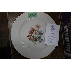 Porcelain Limoges Plate - Comptoir Des Arts, Paris, France