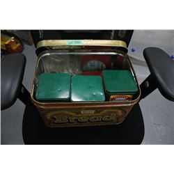Bread Box with 4 Collector Tins