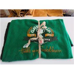 1995 Sask Roughrider Blanket