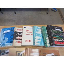 10 Manuals, '97 GM, '80  Pontiac, '86 Chevette, '80 Cordoba LeBaron, Mirada, etc, '75 '85 '86 Chev,