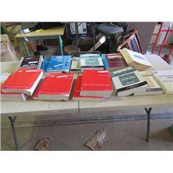 16 Manuals, '95 Escort, 2 - '98 G-Van, 2 - '95 Corsica/Baretta, 2 - '90 Olds, 2 - '93 Astro Van, 2 -