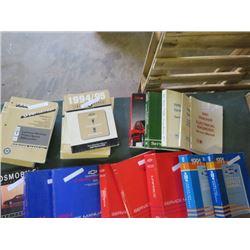 17 Manuals, 2 '93 Corsica, '93 Caprice, '94 Olds, '93 Tracker, 2 '94 Cavalier, 2 '90 Sprint/Firebird