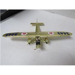 "Texaco Collector Model Plane Wing span 12¼"", 8½ L x 2"" h"