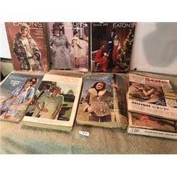 8 Asst  EATONs  catalogues  73,74,4 75,76,79