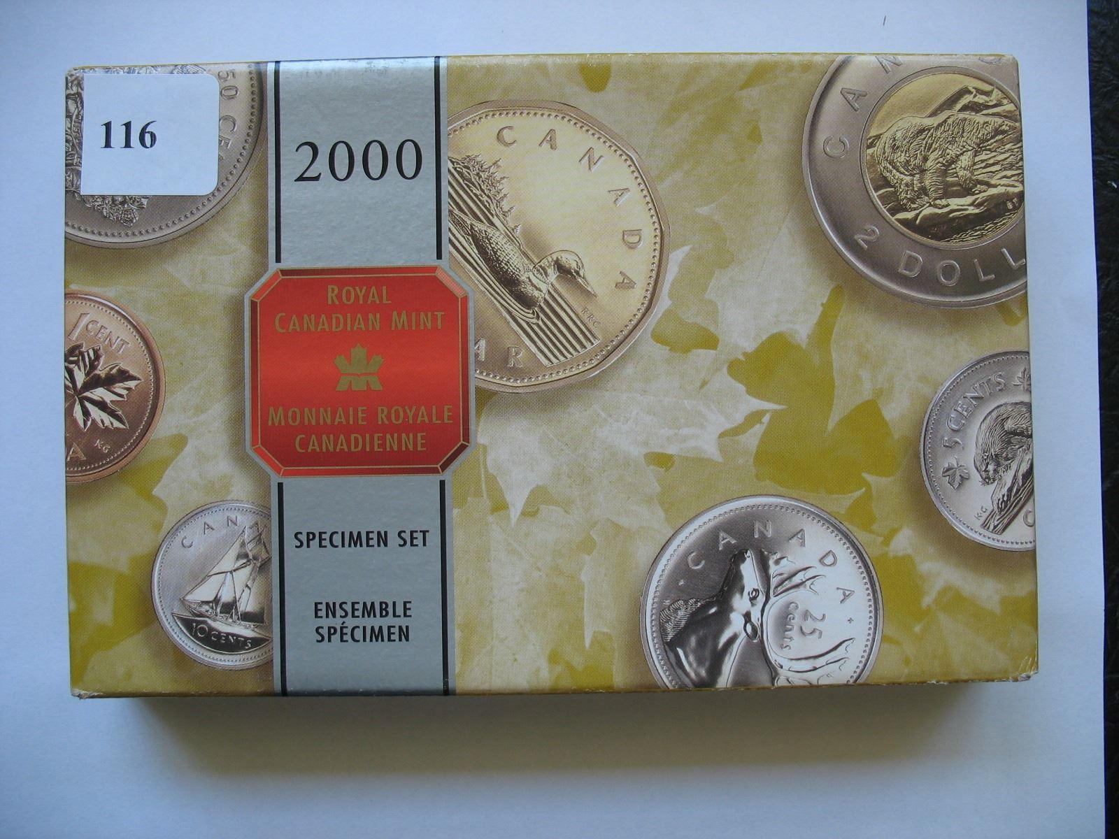 2000 Royal Canadian Mint - Specimen Set