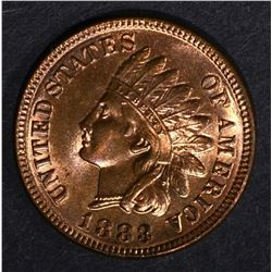 1883 INDIAN CENT, GEM BU RB