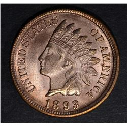 1893 INDIAN CENT, CH BU RB