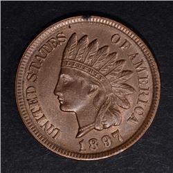 1897 INDIAN CENT, CH BU