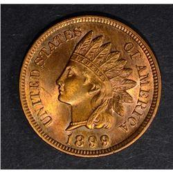 1899 INDIAN CENT, GEM BU RB