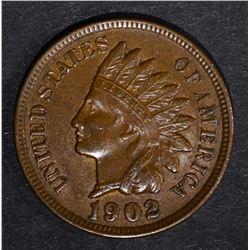 1902 INDIAN CENT, CH BU
