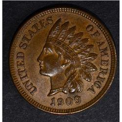1909 INDIAN CENT, CH BU