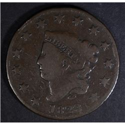 1823/2 LARGE CENT  VG+