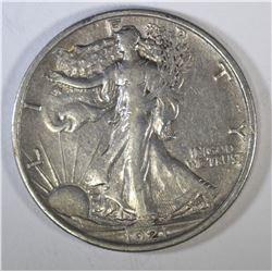 1921 WALKING LIBERTY HALF DOLLAR  FULL XF-AU