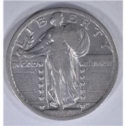 1921 STANDING LIBERTY QTR XF/AU